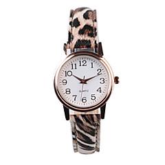 abordables Relojes con Diseño Leopardo-Mujer Reloj de Pulsera Gran venta PU Banda Leopardo / Moda Múltiples Colores
