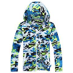남여 공용 하이킹 자켓 방수 빠른 드라이 방풍 안티 발광 통기성 탑스 용 캠핑 & 하이킹 수렵 피싱 등산 레이싱 레저 스포츠 바닷가 파도타기 사이클링/자전거 달리기 봄 여름 겨울 가을 M L XL XXL XXXL