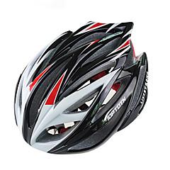 tanie -Kask rowerowy Kolarstwo 21 Otwory wentylacyjne 3D Górski Ultralekkie Sportowy Młodzieżowy Kolarstwo górskie Rekreacyjna jazda na rowerze