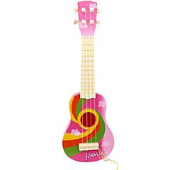 Kunststoff rosa Simulation Kind Gitarre für Kinder ab 8 Musikinstrumente Spielzeug
