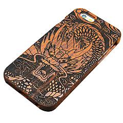 Для Кейс для iPhone 5 Чехлы панели С узором Задняя крышка Кейс для Имитация дерева Твердый Дерево для Apple iPhone SE/5s iPhone 5