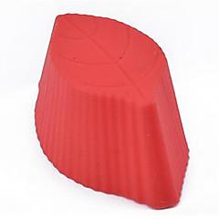 お買い得  ベイキング用品&ガジェット-ベークツール シリコーン エコ 高品質 3D チョコレート パイ ケーキ パン ベーキングモールド