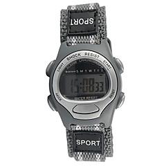 お買い得  大特価腕時計-スポーツウォッチ カジュアルウォッチ / クール 生地 バンド ファッション グレー / Tianqiu 377