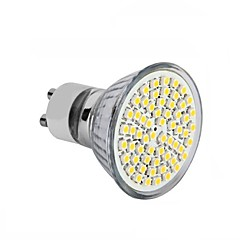 3.5 GU10 GU5.3(MR16) E26/E27 Spot LED MR16 60SMD diodes électroluminescentes SMD 2835 Décorative Blanc Chaud Blanc Froid 3000-6500lm