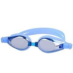 YS Óculos de Natação Unisexo Anti-Nevoeiro / Á Prova-de-Água / Anti-Estilhaços Resina de Engenharia PCCinzento / Preto / Azul / Rosa