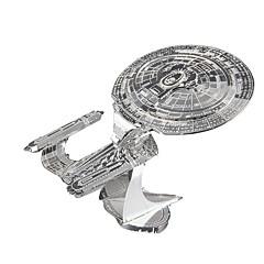 hesapli -Star Enterprise 3D Yapbozlar Yapboz Metal Yapbozlar Modely Uzay Aracı Metal Alaşımlı Metal Hediye