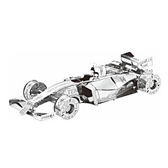 hesapli -3D Yapbozlar Yapboz Metal Yapbozlar Araba Kendin-Yap Metal Yarış Arabası Hediye