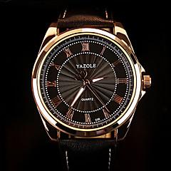 お買い得  大特価腕時計-男性用 リストウォッチ 耐水 PU バンド チャーム ブラック / ブラウン / SODA AG4