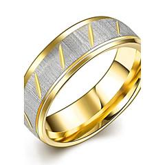 preiswerte Ringe-Herrn Eheringe Bandring Statement-Ring - vergoldet Quaste, Böhmische, Punk 7 / 8 / 9 / 10 Gold Für Hochzeit Party Alltag