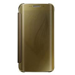 tanie Galaxy S6 Etui / Pokrowce-Kılıf Na Samsung Galaxy Samsung Galaxy S7 Edge Flip Półprzezroczyste Pełne etui Solid Color PC na S7 edge plus S7 edge S7 S6 edge plus S6