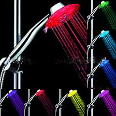 お買い得  蛇口用 LED ライト-LED シャワーヘッドライト ウォーター 防水 ABS