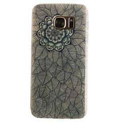 Varten Samsung Galaxy S7 Edge Kuvio Etui Takakuori Etui Mandala Pehmeä TPU SamsungS7 edge / S7 / S6 edge / S6 / S5 Mini / S5 / S4 Mini /