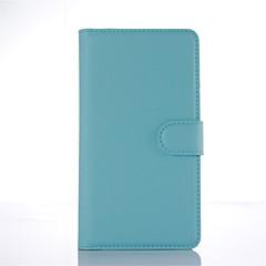 Кейс для Назначение Xiaomi Кейс для Mi Кошелек Бумажник для карт со стендом Флип Чехол Сплошной цвет Твердый Искусственная кожа для