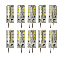 cheap LED Bulbs-3W G4 LED Bi-pin Lights T 24 SMD 2835 200-250 lm Warm White Cold White 3000/6000 K Decorative Dimmable DC 12 V