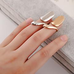 preiswerte Ringe-Damen Niedlich Nagel Fingerring - Personalisiert / Freizeit / Sexy Silber / Golden Ring Für Alltag / Normal