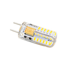 G6.35 LED Bi-pin Lights T 3014 SMD 3014 350-380 lm Warm White Cold White K Decorative AC 12 V 1pc