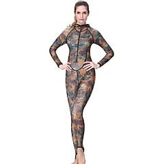Χαμηλού Κόστους -Γυναικεία Dive κοστούμι του δέρματος Υπεριώδης Αντίσταση Συμπίεση Πλήρης κάλυψη Tactel Στολές κατάδυσης Καταδύσεις Ψαροντούφεκο