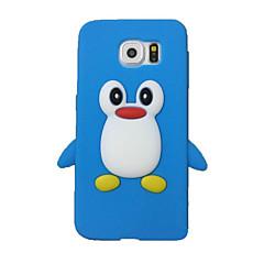halpa Galaxy S4 Mini kotelot / kuoret-Varten Samsung Galaxy kotelo Iskunkestävä Etui Takakuori Etui 3D piirros Silikoni SamsungS7 edge / S7 / S6 / S5 / S4 Mini / S4 / S3 Mini