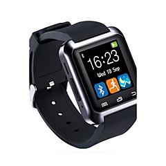 tanie Zegarki elektroniczne-Męskie Sportowy Inteligentny zegarek Zegarek na nadgarstek Cyfrowe Pilot zdalnego sterowania LED Guma Pasmo Urok Luksusowy Czarny Biały