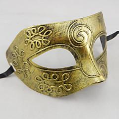 olcso -Halloween maszkok Álarcosbál maszkok Játékok Horror téma Ősi római gladiátor 1 Darabok Álarcos mulatság Mindszentek napja Ajándék