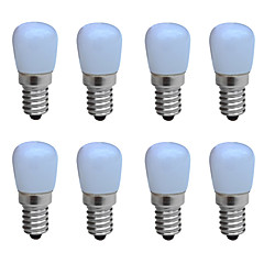 preiswerte LED-Birnen-JIAWEN 8St 1W 100-150lm E14 LED Kerzen-Glühbirnen B 1 LED-Perlen COB Dekorativ Warmes Weiß Kühles Weiß 220-240V