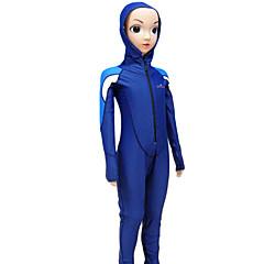 Χαμηλού Κόστους -Ανδρικά Γυναικεία Παιδικό Dive κοστούμι του δέρματος Υπεριώδης Αντίσταση Συμπίεση Πλήρης κάλυψη Tactel Μακρυμάνικο Στολές κατάδυσης Μαγιό