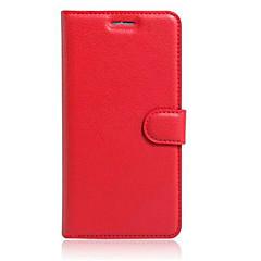 お買い得  その他のケース-ケース 用途 AsusのZenFoneマックスZC550KL AsusのZenfone 2レーザーZE550KL Asus Asusケース カードホルダー スタンド付き フリップ フルボディーケース 純色 ハード PUレザー のために Asus ZenFone Selfie