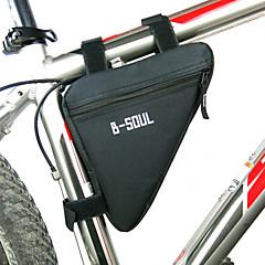 Χαμηλού Κόστους Τσάντες Ποδηλάτου-B-SOUL Τσάντα για σκελετό ποδηλάτου / Τσάντα πλαισίου τριγώνου Υδατοστεγανό, Φοριέται, Αντικραδασμική Τσάντα ποδηλάτου Πολυεστέρας / PVC / Τερυλίνη Τσάντα ποδηλάτου Τσάντα ποδηλασίας