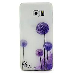 Mert Samsung Galaxy S7 Edge Foszforeszkáló / Minta Case Hátlap Case Pitypang Puha TPU SamsungS7 edge / S7 / S6 edge plus / S6 edge / S6 /