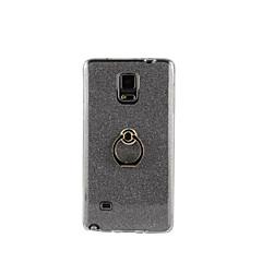 Για Samsung Galaxy Note Βάση δαχτυλιδιών tok Πίσω Κάλυμμα tok Λάμψη γκλίτερ Μαλακή TPU Samsung Note 5 / Note 4 / Note 3