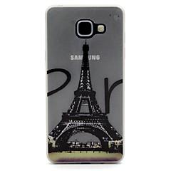 Varten Motorola kotelo Hehkuu pimeässä Etui Takakuori Etui Eiffelin torni Pehmeä TPU Motorola Moto G4 Play / MOTO G4