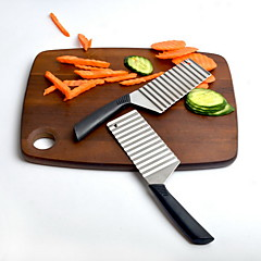 Potato Stainless Steel Cutter & Slicer Creative Kitchen Gadgets Use Everyday