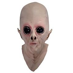 ijesztő szilikon maszk idegen ufo földönkívüli fél et horror latex teljes maszk halloween party játék