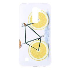 Til LG etui Etuier Mønster Bagcover Etui Frugt Blødt TPU for LG J5 (2016) LG K10 LG K7 LG G5 LG G4 LG V10