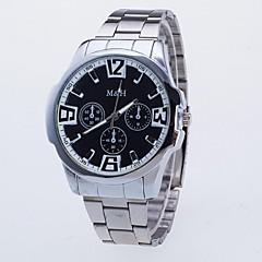 preiswerte Tolle Angebote auf Uhren-Herrn Modeuhr Kompass / Nachts leuchtend Legierung Band Freizeit Silber