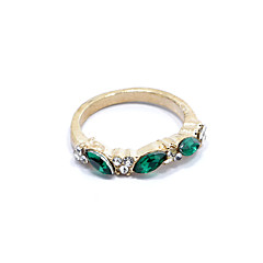 Women's Statement Rings Fashion Costume Jewelry Rhinestone Alloy Jewelry Jewelry For Gift Daily