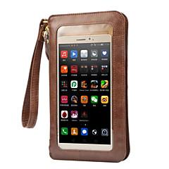 iphone 7 plus pénztárca univerzális táska zsinór oldaltáska érintőképernyő tok iPhone 5 / 5s / se / 6 / 6s / 6 + / 6s plus