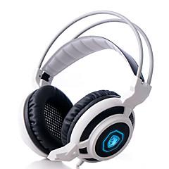 Sades Magic Feather Hoofdtelefoons (hoofdband)ForMediaspeler/tablet / ComputerWithmet microfoon / DJ / Volume Controle / FM Radio /