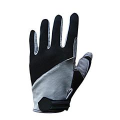 قفازات الدراجة قفازات التزلج للرجال للمرأة اصبع كامل الدفء ضد الهواء كنفا التزلج