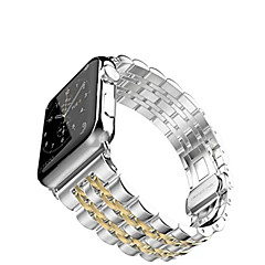 Horloge band voor appelhorloge 38mm 42mm roestvrijstalen armband vlinder gesp