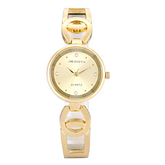 preiswerte Tolle Angebote auf Uhren-REBIRTH Damen Armbanduhr Quartz Schlussverkauf / PU Band Analog Freizeit Modisch Elegant Schwarz - Gold