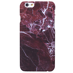 billige iPhone 5-etuier-Til iPhone X iPhone 8 iPhone 6 iPhone 6 Plus Etuier Andet Bagcover Etui Marmor Hårdt PC for Apple iPhone X iPhone 8 Plus iPhone 8 iPhone