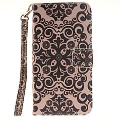 Для Samsung Galaxy Note7 Кошелек / Бумажник для карт / Флип / С узором Кейс для Чехол Кейс для Цветы Твердый Искусственная кожа Samsung