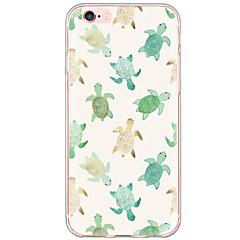 Недорогие Кейсы для iPhone X-Кейс для Назначение Apple iPhone X iPhone 8 iPhone 6 iPhone 6 Plus Защита от пыли Защита от удара С узором Кейс на заднюю панель Животное