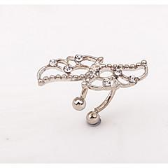 preiswerte Ohrringe-Damen Ohrstecker Klips Ohr-Stulpen - Personalisiert, Bikini Silber / Golden Für Alltag Normal