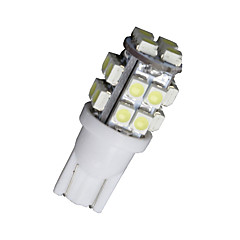 10 stuks xenon wit t10 wedge 20 smd LED-lampen W5W 2825 158 192 168 194 12v