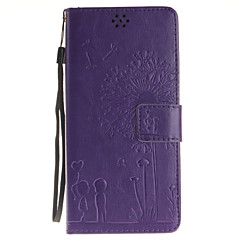 пу кожаный материал картины наборы любителей одуванчика телефон для Samsung Note5 Примечание4