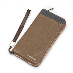 Для Кейс для iPhone 6 / Кейс для iPhone 6 Plus Кошелек / Бумажник для карт / Флип Кейс для Чехол Кейс для Один цвет ТвердыйИскусственная