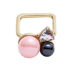 お買い得  指輪-女性用  -  合金 オリジナル, ファッション ワンサイズ ピンク 用途 カジュアル