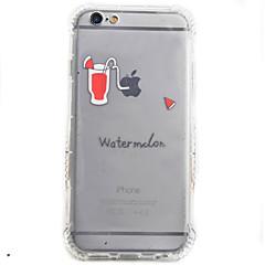 Кейс на заднюю панель Ударопрочный Играть с Apple Logo TPU Мягкий Для крышки случая Apple iPhone 6s Plus/6 Plus / iPhone 6s/6